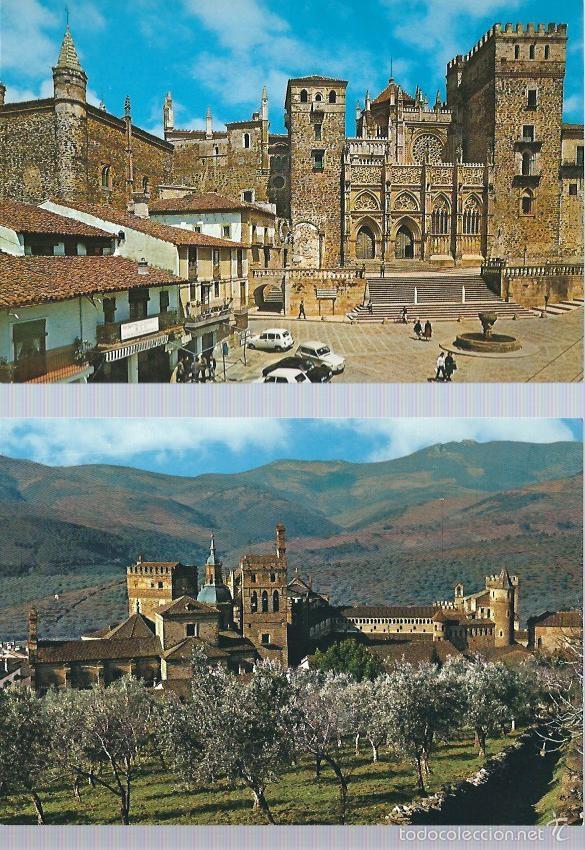 Postales: LOTE DE 7 POSTALES ANTIGUAS DEL MONASTERIO DE GUADALUPE MADRID - Foto 3 - 61041635