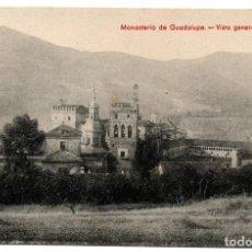 Postales: PS6940 MONASTERIO GUADALUPE 'VISTA GENERAL DEL ESTE'. THOMAS. SIN CIRCULAR. AÑOS 30. Lote 62057900