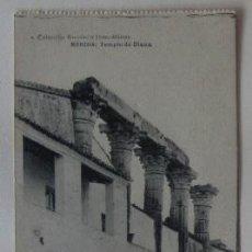 Postales: POSTAL DE MERIDA - TEMPLO DE DIANA. Lote 62164096