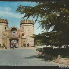 Postales: POSTAL BADAJOZ - PUERTA DE LAS PALMAS - ARRIBAS 1962. Lote 62253812