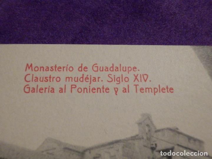 Postales: Postal - España - Monasterio de Guadalupe - Claustro Mudejar Siglo XIV, Galería al Poniente - Thomas - Foto 2 - 62705784