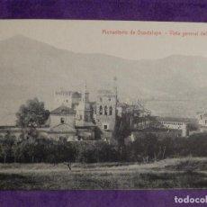 Postales: POSTAL - ESPAÑA - CACERES MONASTERIO DE GUADALUPE - VISTA GENERAL DEL ESTE - THOMAS. Lote 62706784