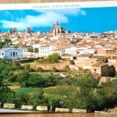 Postales: CACERES - VISTA GENERAL. Lote 63113792
