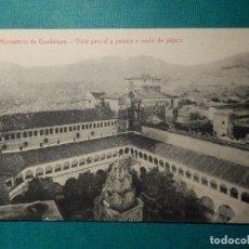 Postales: POSTAL - ESPAÑA - CÁCERES - MONASTERIO DE GUADALUPE - VISTA PARCIAL Y PAISAJE A VUELO - THOMAS 2883. Lote 63358832