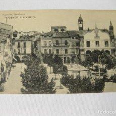Postales: POSTAL DE LA PLAZA MAYOR DE PLASENCIA. PAPELERIAS HONTIVEROS. Lote 63448244