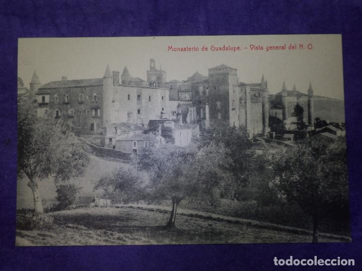Postales: POSTAL - ESPAÑA - CÁCERES - MONASTERIO DE GUADALUPE - VISTA GENERAL DEL N..O. - 2884 THOMAS - Foto 2 - 63768351