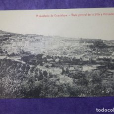 Postales: POSTAL - ESPAÑA - CÁCERES - MONASTERIO DE GUADALUPE - VISTA GENERAL DE LA VILLA Y - 2894 THOMAS. Lote 63768515