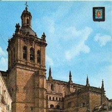 Postales: CORIA - 45 FACHADA DE LA CATEDRAL. Lote 66261150