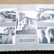 Postales: POSTAL ANTIGUA CÁCERES. TIPO RECUERDO DE CÁCERES. EDICIONES VALA. . Lote 67106957