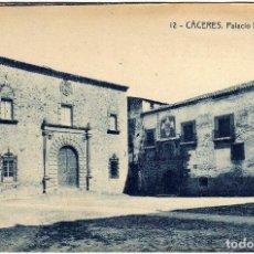 Postales: BONITA POSTAL - CACERES - PALACIO EPISCOPAL - NIÑO. Lote 36377841