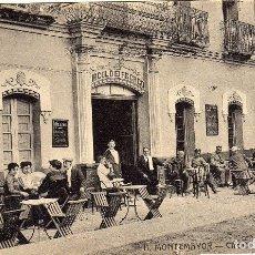 Postales: MAGNIFICA POSTAL - MONTEMAYOR (CACERES) - CIRCULO DE RECREO - MUY AMBIENTADA. Lote 36390178