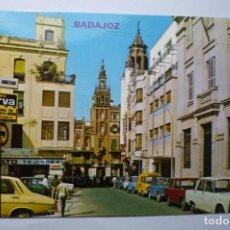 Postais: POSTAL BADAJOZ PL-SOLEDAD - COCHES SEAT. Lote 67764065