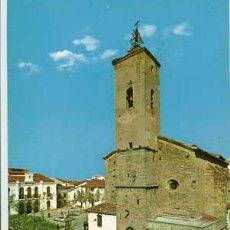 Postales: CACERES NAVALMORAL DE LA MATA PLAZA DE ESPAÑAI.P. SAN ANDRES. ED. BEASCOA. CIRCULADA. Lote 68160505