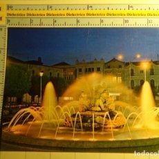 Postales: POSTAL DE BADAJOZ, AÑO 1973. DON BENITO, PLAZA DE ESPAÑA FUENTE LUMINOSA. 397. Lote 68182881