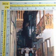 Postais: POSTAL DE CÁCERES, AÑO 1987. VALVERDE DE LA VERA, CALLE DE LA MIMBRE. SEMANA SANTA. EMPALAO. 422. Lote 68183725