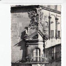 Postales: TRUJILLO (CÁCERES).- BALCÓN DEL PALACIO DEL DUQUE DE SAN CARLOS.. Lote 68578277