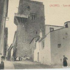 Postales: CACERES - TORRE DE LOS CACERES. Lote 70195981