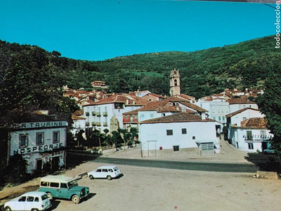 BAÑOS DE MONTEMAYOR CARRETERA NACIONAL 630 CON VISTA PARCIAL (Postales - España - Extremadura Moderna (desde 1940))