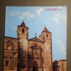 Postales: POSTAL - ESPAÑA - CÁCERES - PLAZA DE SAN JORGE - IGLESIA DE SAN FRANCISCO -. Lote 71161285