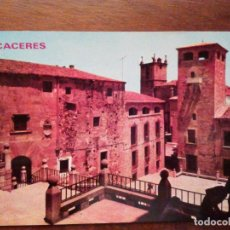 Postales: POSTAL DE CÁCERES. PLAZA DE SAN JORGE, GOLFINES DE ABAJO. EDICIONES PARÍS.. Lote 72787239