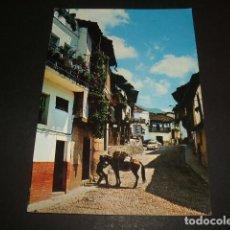 Postales: CABEZUELA DEL VALLE CACERES CALLE GENERALISIMO. Lote 72812843