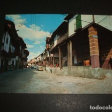 Postales: CABEZUELA DEL VALLE CACERES CALLE PRINCIPAL. Lote 72812975