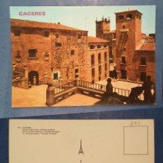 Postales: CACERES - SPAIN - PLAZA DE SAN JORGE, GOLFINES DE ABAJO - POSTCARD. Lote 74226515