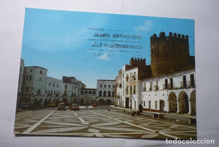 POSTAL BADAJOZ PL.ALTA-CIRCULADA (Postales - España - Extremadura Moderna (desde 1940))