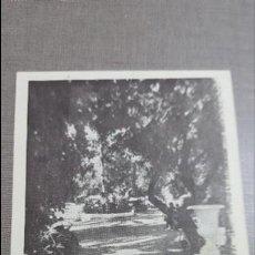 Postales: ALANGE PASEO Y JARDINES EN EL BALNEARIO.BADAJOZ. Lote 75385035