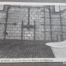 Postales: ALANGE DUCHA DE SEÑORAS DEL ROMANO EN BALNEARIO.BADAJOZ . Lote 75395715