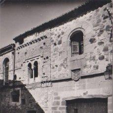 Postales: CACERES - CASA MUDÉJAR - EDICIONES ARRIBAS - ZARAGOZA. Lote 75981967