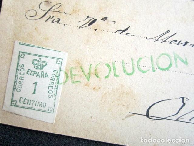 Postales: POSTAL PUBLICITARIA, AÑO 1930. HIGUERA DE VARGAS, BADAJOZ. CON MARCA VERDE DE DEVOLUCIÓN. - Foto 5 - 76591751