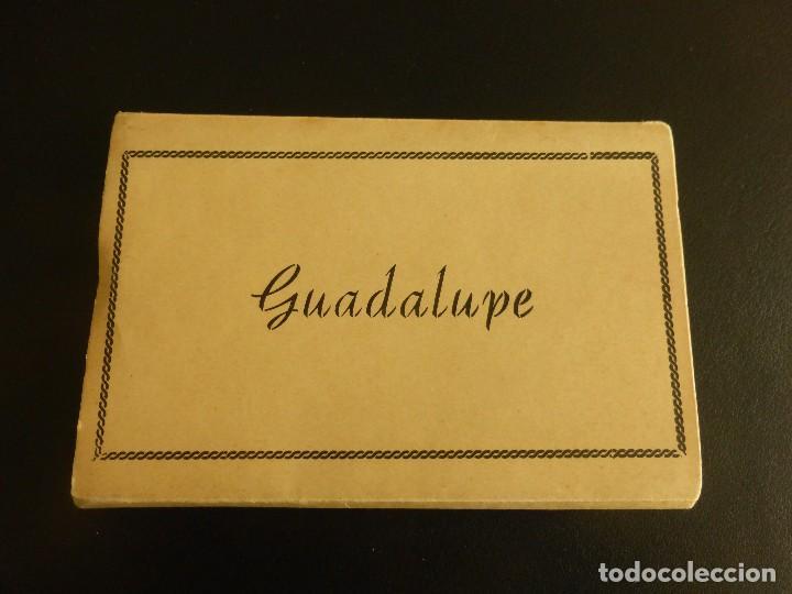 LOTE DE 15 POSTALES EN ACORDEÓN DE GUADALUPE. AÑOS 50 (Postales - España - Extremadura Moderna (desde 1940))