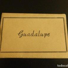 Postales: LOTE DE 15 POSTALES EN ACORDEÓN DE GUADALUPE. AÑOS 50. Lote 76652647