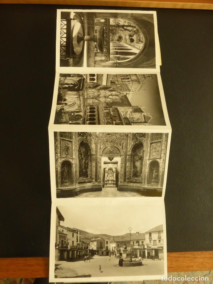 Postales: LOTE DE 15 POSTALES EN ACORDEÓN DE GUADALUPE. AÑOS 50 - Foto 4 - 76652647