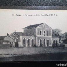 Postales: POSTAL ZAFRA - ESTACIÓN DE TREN. Lote 76729111