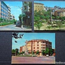 Postales: LOTE DE 3 POSTALES DE CÁCERES SIN CIRCULAR DEL AÑO 1969. Lote 76761099