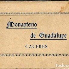 Postales: R10 -MONASTERIO DE GUADALUPE (CÁCERES): 10 POSTALES EN ACORDEÓN (COMPLETO), DE 1960. Lote 77150805