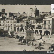 Postales: TRUJILLO - 42 - PLAZA MAYOR - MERCADO -VER FOTOS-(46.830). Lote 78654649