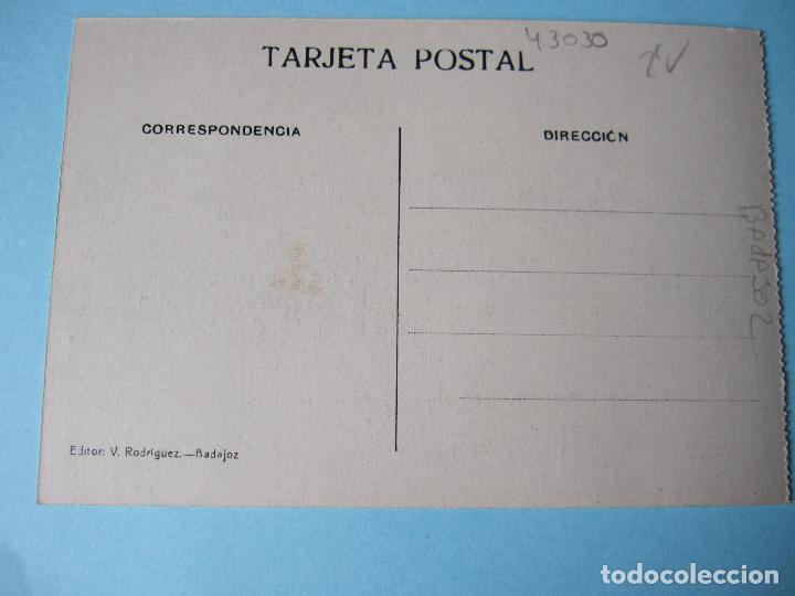 Postales: POSTAL ANTIGUA DE BADAJOZ PASEO DE SAN FRANCISCO - Foto 2 - 80432877