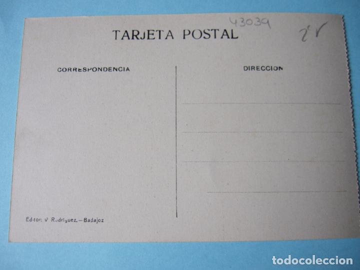 Postales: POSTAL ANTIGUA BADAJOZ PUENTE DE PALMAS O VIEJO - Foto 2 - 80433105