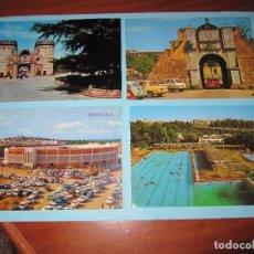 Postales: POSTALES EN COLOR DE BADAJOZ AÑOS 60-70 POSTAL PLAZA TOROS PUERTA PILAR ETC. Lote 80433405