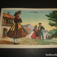Postales: CACERES TIPOS DE LA PROVINCIA. Lote 80529105
