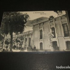 Postales: BAÑOS DE MONTEMAYOR CACERES BALNEARIO. Lote 81689868