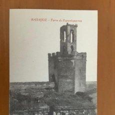 Postales: POSTAL BADAJOZ - TORRE DE ESPANTAPERROS. Lote 83679404