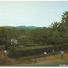 Postales: POSTAL HIGUERA LA REAL (BADAJOZ) - PARQUE AL ATARDECER - SURIMPRE 1971. Lote 83873476
