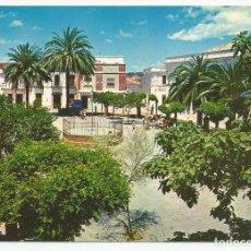 Postales: POSTAL HIGUERA LA REAL (BADAJOZ) - PLAZA JOSÉ ANTONIO - CASTO ALFONSO 1971. Lote 83873716