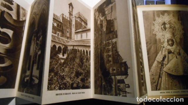 Postales: BLOC 10 POSTALES REAL MONASTERIO DE GUADALUPE. CACERES. 2ª SERIE. FOURNIER - Foto 2 - 85116892