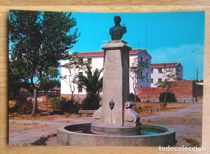 NAVALMORAL DE LA MATA - CACERES - MONUMENTO A CASTO LOZANO (Postales - España - Extremadura Moderna (desde 1940))
