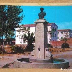 Postales: NAVALMORAL DE LA MATA - CACERES - MONUMENTO A CASTO LOZANO. Lote 85696520